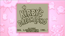 Let's Play Kirby's Dream Land