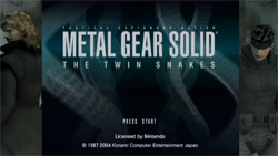 Let's Play Metal Gear Solid: The Twin Snakes
